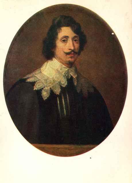 Антонис ван дейк портрет молодого